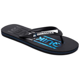 Quiksilver Molokai Wordmark Men Sandals black/black/blue